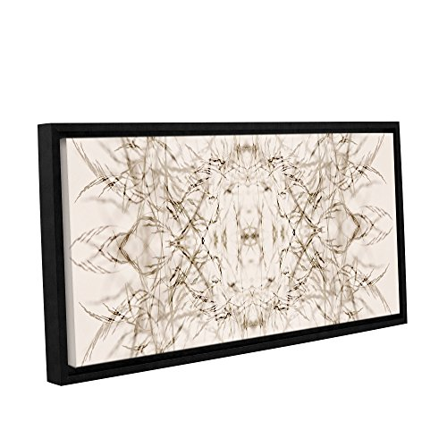 UPC 640823180130, ArtWall Cora Niele's Wallpaper I Gallery Wrapped Floater Framed Canvas, 12 by 24""