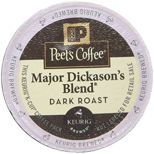 Peet's Coffee Major Dickason Blend Single Cup Coffee for Keurig K-Cup Brewers 40 count