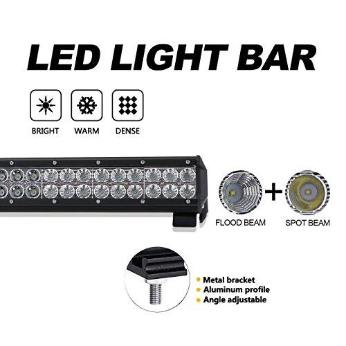 "39/"" inch Led Light Bar Combo Beam w//Wiring Kit Offroad Driving 4X4 ATV Truck SUV"