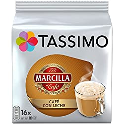 Tassimo Marcilla Café con Leche - 16 Discs