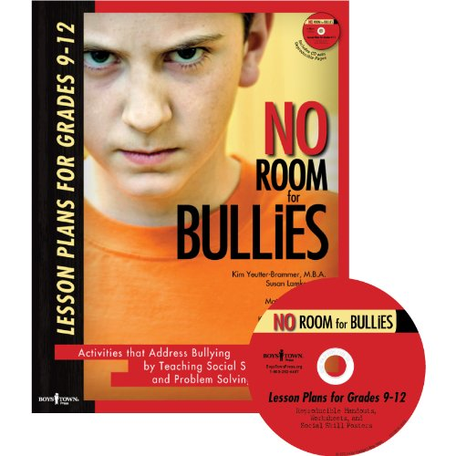 Download No Room for Bullies: Lesson Plans for Grades 9-12 pdf