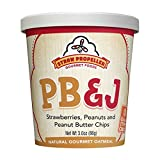 Straw Propeller Gourmet Foods Natural Gourmet Oatmeal, PB and J, 3.7 Ounce (Pack of 12)