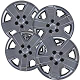 Hubcaps for 16 inch Standard Steel Wheels (Pack of 4) Wheel Covers - Snap On, Chrome