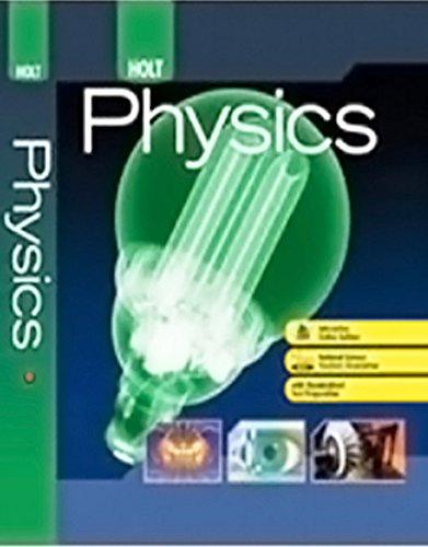 Holt McDougal Physics Solutions Manual