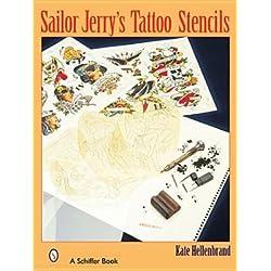 Sailor Jerrys Tattoo Stencils[SAILOR JERRYS TATTOO STENCILS][Paperback]