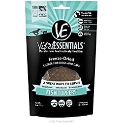 Vital Essentials Freeze-Dried Fish Toppers, 6 oz
