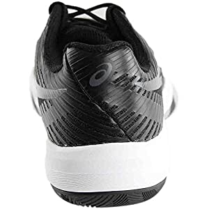 ASICS Women's Volley Elite FF Volleyball-Shoes, Black/Dark Grey/White, 9.5 Medium US