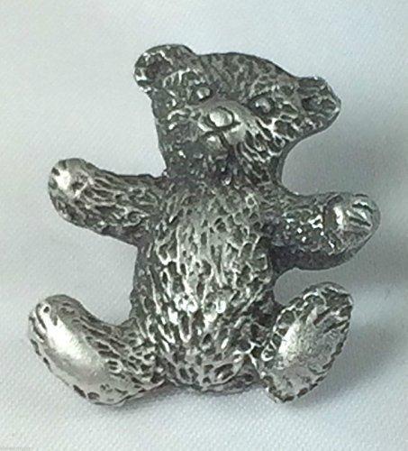 Ours en peluche de qualité faite main en étain Pin's (épinglette Badge