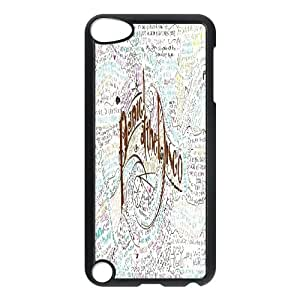 Custom panic at the disco Cell Phone Case, Custom Durable Cover Case for iPod Touch 5 panic at the disco
