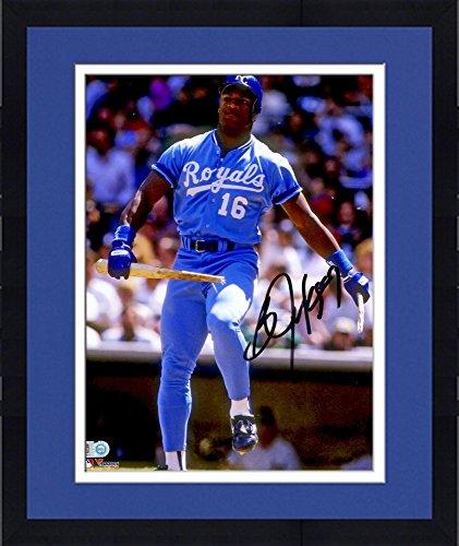 Framed Bo Jackson Kansas City Royals Autographed 8'' x 10'' Breaking Bat Photograph - Fanatics Authentic Certified Autographed Bo Jackson Photograph
