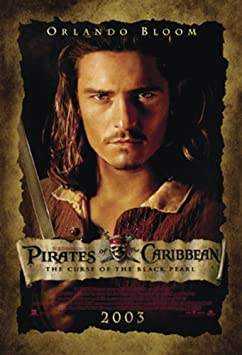 Piratas del Caribe Póster de Orlando Bloom - Póster (68 cm x 98 cm ...