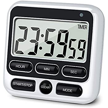 Amazon.com: Habor Kitchen Timer, 24-Hours Digital Timer ...