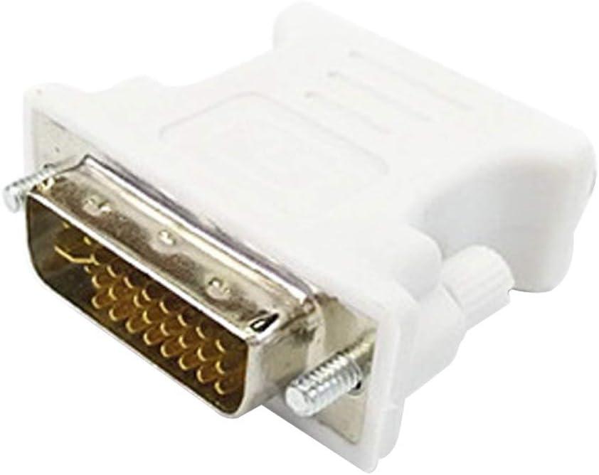 NoyoKere DVI-I 24 + 5 Macho a HD 15 Pin VGA SVGA Tarjeta de Video ...