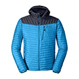 Eddie Bauer Men's MicroTherm StormDown Hooded Jacket, Wave Regular XXL