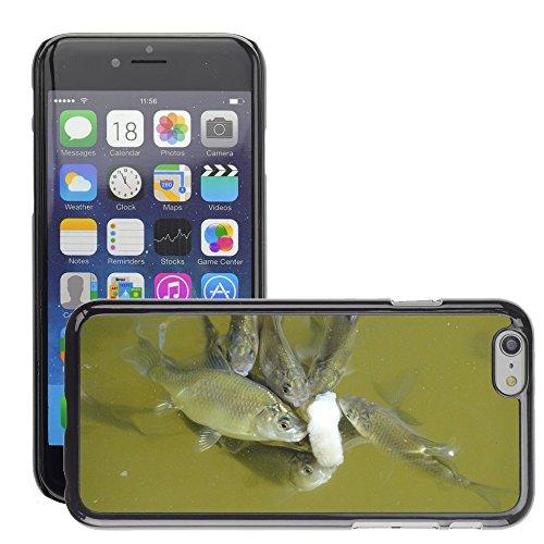 "Just Phone Cases Hard plastica indietro Case Custodie Cover pelle protettiva Per // M00127874 Poisson Animaux Pond Water alimentaire // Apple iPhone 6 PLUS 5.5"""