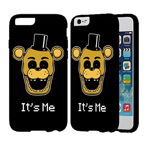 Five Nights At Freddy S Fnaf Golden Freddy It S Me Case Cover Your Iphone 6 Plus Case And Iphone 6S Plus Case ( Black Hard Plastic - Ship To How Usps Canada To
