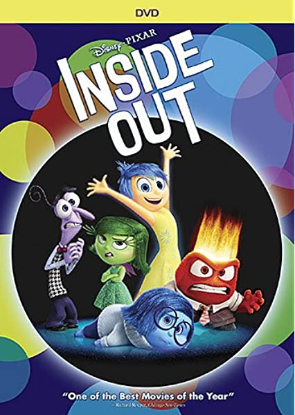 Amazon Com Inside Out 1 Disc Dvd Amy Poehler Phyllis Smith Richard Kind Bill Hader Lewis Black Mindy Kaling Kaitlyn Dias Diane Lane Kyle Maclachlan Pete Docter Story By Pete Docter Ronnie Del