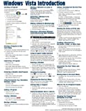 Microsoft Windows Vista Quick Reference Guide (Cheat Sheet of Instructions, Tips & Shortcuts - Laminated Card)