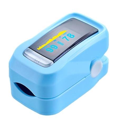 Dedo Pulso Medidor Detector de saturación de oxígeno en sangre mango Monitor de Pulso Medidor de