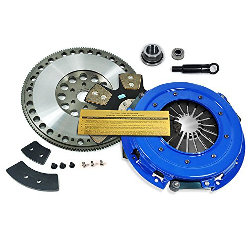 EFT STAGE 4 HD CLUTCH KIT & RACE FLYWHEEL FOR 86-95 FORD MUSTANG LX GT COBRA SVT 5.0L