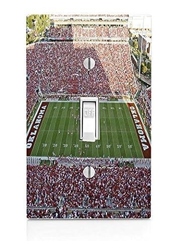 College Football Stadiums Light Switch Plate - Boomer Football