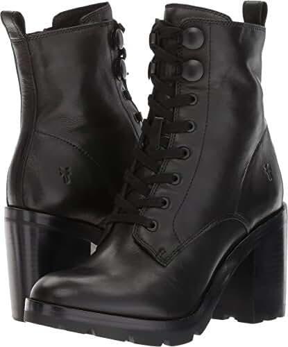 FRYE Women's Myra Lug Combat Boot