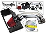 13 ram air intake - Cold Air Intake System with Heat Shield Kit + Filter Combo RED for 09-15 Dodge Ram 1500/09-11 & 13-15 Dodge Ram 2500/09 & 11 Dodge Ram 3500 HEMI 5.7L V8