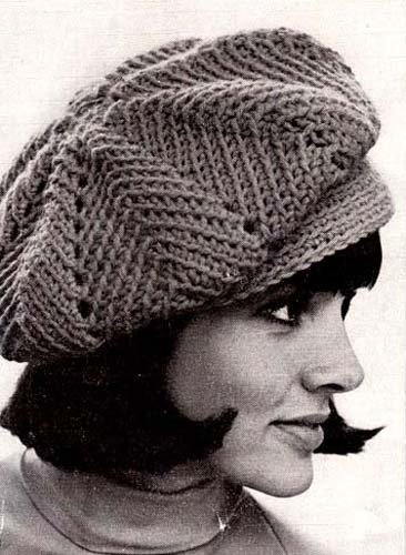 Ripple Newsie Newsboy Cap Hat Beanie Crochet Pattern Kindle