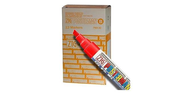 Pens Craft Pens 6mm Posterman White Waterproof Chalk Pens Sign Writer Pens