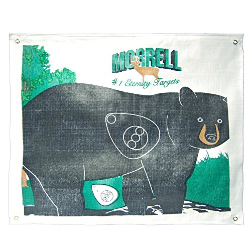 Morrell Targets Walking Bear Polypropylene Archery Target Face