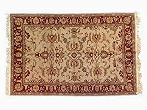 Pure Natural Wool Turkmen Elite Handmade Rug (1.55m X 2.33m)