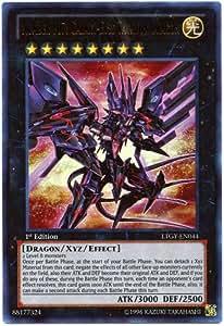 Yu-Gi-Oh! - Number 107: Galaxy-Eyes Tachyon Dragon (LTGY-EN044) - Lord of the Tachyon Galaxy - 1st Edition - Ultra Rare