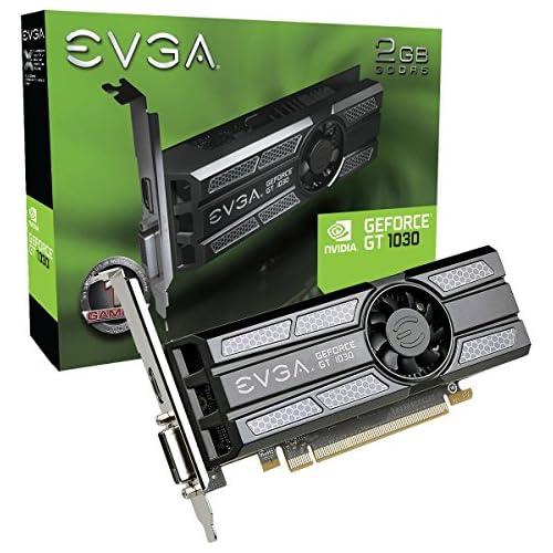 chollos oferta descuentos barato Evga geforce GT 1030 SC 2gb gddr5 Perfil baixo Placa de Video 02g p4 6333 kr