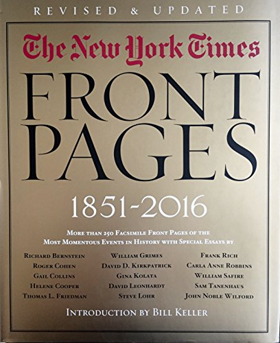 The New York Times: Front Pages, 1851-2016
