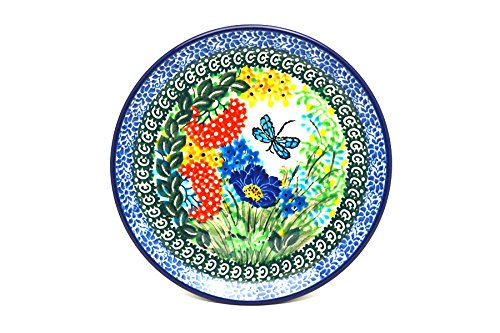 Polish Pottery Plate - Bread & Butter (6 1/4