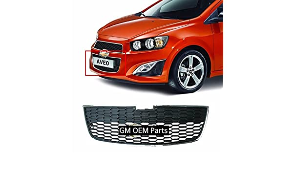 Amazon.com: Front Radiator LOW Grille For GM Chevrolet Sonic RS Turbo 2013+ OEM Parts: Automotive