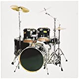 3dRose Drums - Greeting Cards, 6 x 6 inches, set of 12 (gc_4099_2)