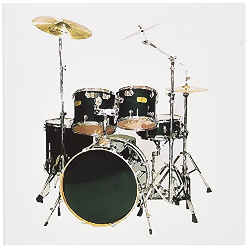 Price comparison product image 3dRose Drums - Greeting Cards, 6 x 6 inches, set of 12 (gc_4099_2)