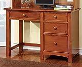 ComfortScape Harken 4 Drawer Youth Desk in Oak