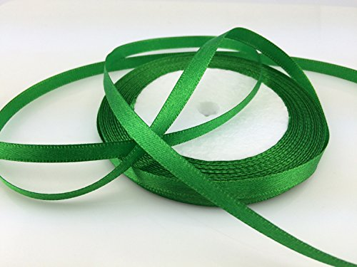 - Solid Color Satin Ribbon 1/4
