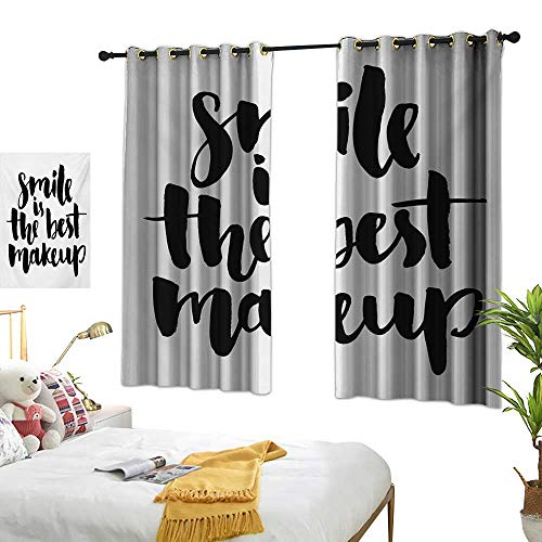 Luckyee Decor Curtains by,Quote,72