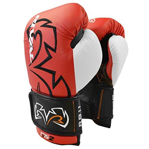 RIVAL BOXING GLOVES (RB11 Evolution Bag Gloves) (Red, MEDIUM)
