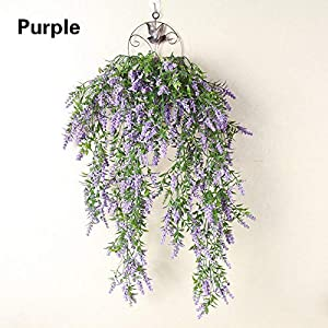 Plant Flower GarlandsOutdoor/Home Trailing Flower 7FT Artificial Wisteria Vine Garland Plants Foliage 13