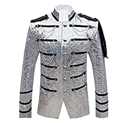 Men's Sequins Club Wear Jackets