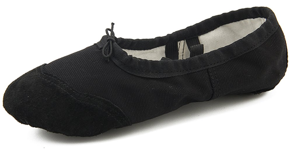 Dreamone Chaussures de Ballet Fille Classique Ballet Chaussures Classique de Fille Danse Gymnastique Yoga Ballerines Chaussons Femme Noir 184d39b - latesttechnology.space