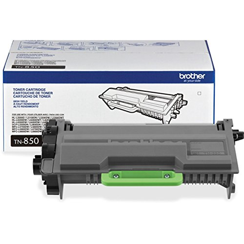 51lwGak5IaL - Brother Genuine TN850 High Yield Mono Laser Toner Cartridge