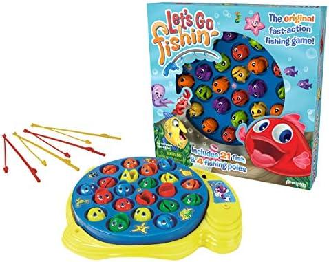 Lets Go Fishin Game - Juego de pescar peces: Amazon.es: Juguetes y juegos