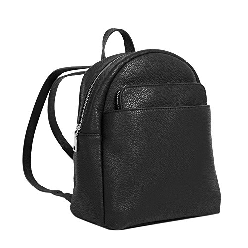 Parfois Kangaroo Women Black Backpack Kangaroo Parfois Backpack wwvxRqT1
