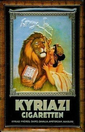 BNVC Kyriazi - Placa Decorativa de Metal (20 x 30 cm), diseño de ...