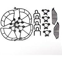Togather Propeller Guards & Landing Gear Skid & Finger Hand Guards Protection Combo for DJI SPARK (black)